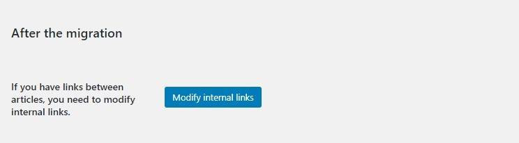 modify internal links joomla