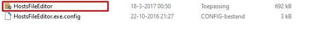 openen hostsfileeditor 1