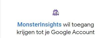 toegang google account
