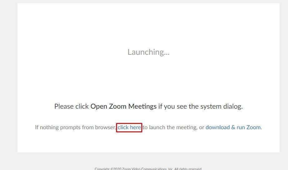 Zoom meeting aanmaken