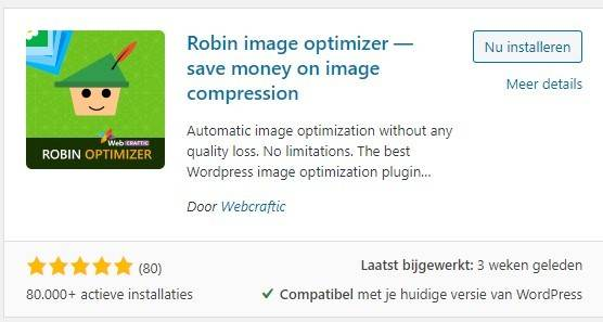 robin image optimizer