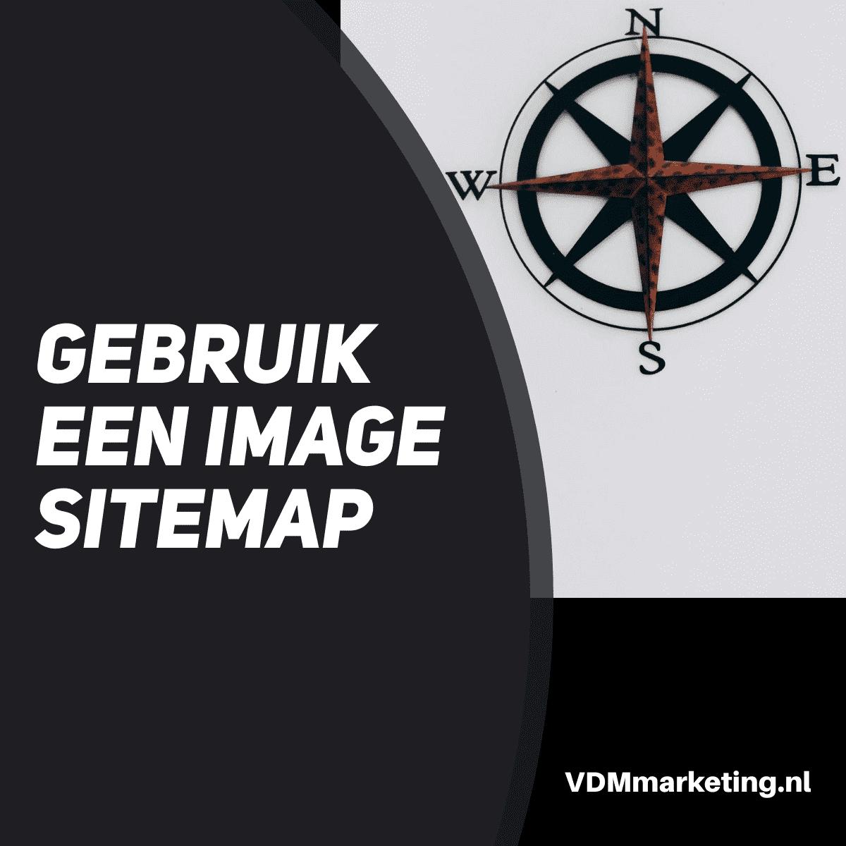 gebruik een image sitemap