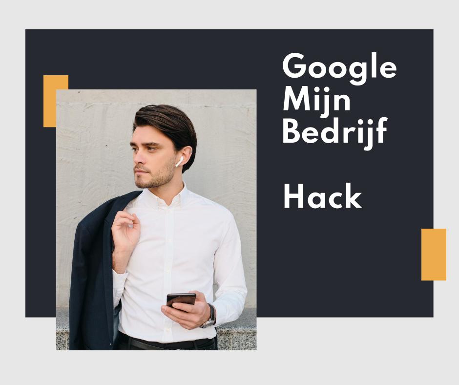 Google mijn bedrijf hack